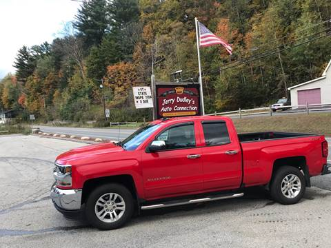 2018 Chevrolet Silverado 1500 for sale at Jerry Dudley's Auto Connection in Barre VT