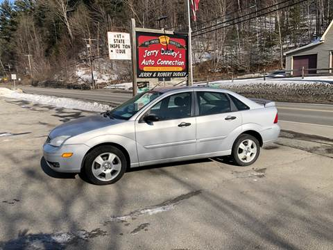 2007 Ford Focus for sale at Jerry Dudley's Auto Connection in Barre VT