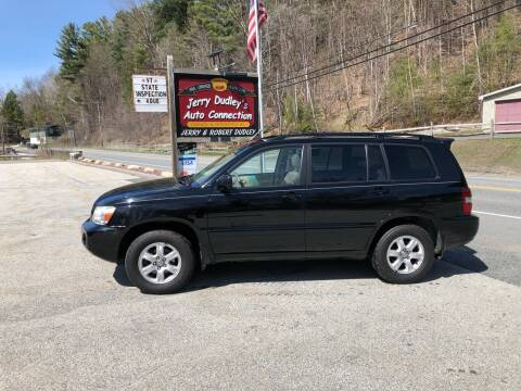 2007 Toyota Highlander for sale at Jerry Dudley's Auto Connection in Barre VT