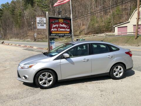 2013 Ford Focus for sale at Jerry Dudley's Auto Connection in Barre VT
