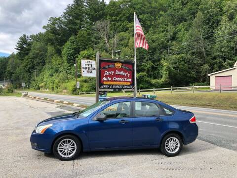 2009 Ford Focus for sale at Jerry Dudley's Auto Connection in Barre VT