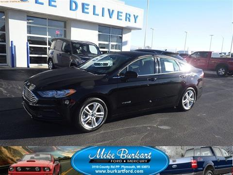 2018 Ford Fusion Hybrid for sale in Plymouth, WI