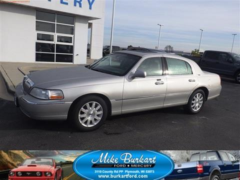 2008 Lincoln Town Car for sale in Plymouth, WI