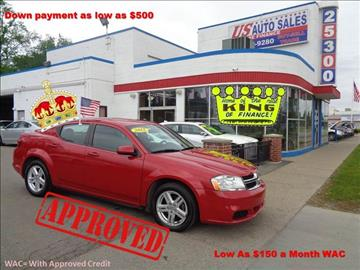 2012 Dodge Avenger for sale in Redford, MI