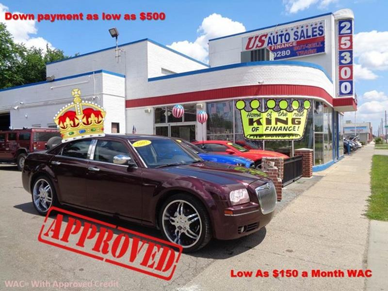 2007 Chrysler 300 car for sale in Detroit
