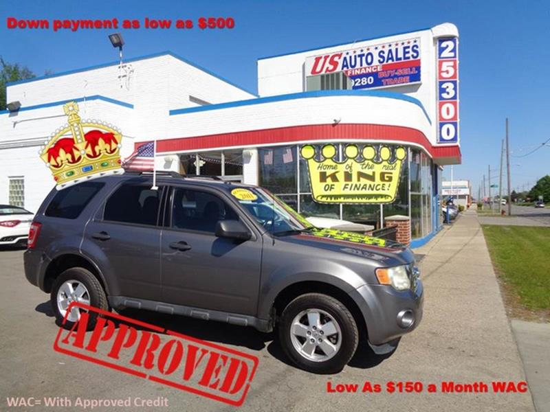 2011 Ford Escape car for sale in Detroit