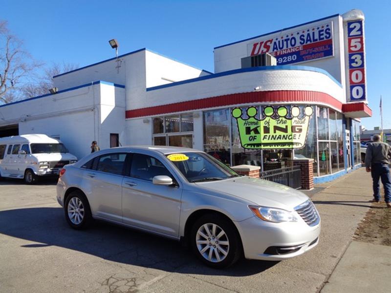 2011 Chrysler 200 car for sale in Detroit