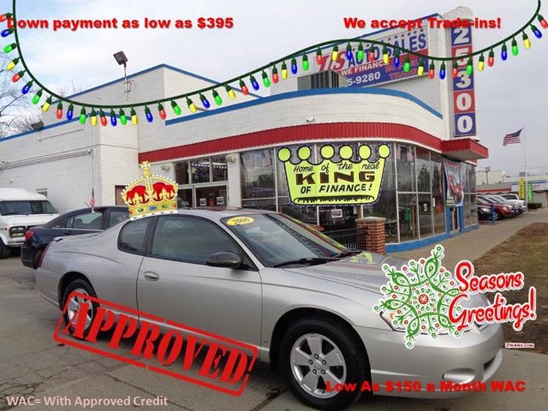 2006 Chevrolet Monte Carlo car for sale in Detroit