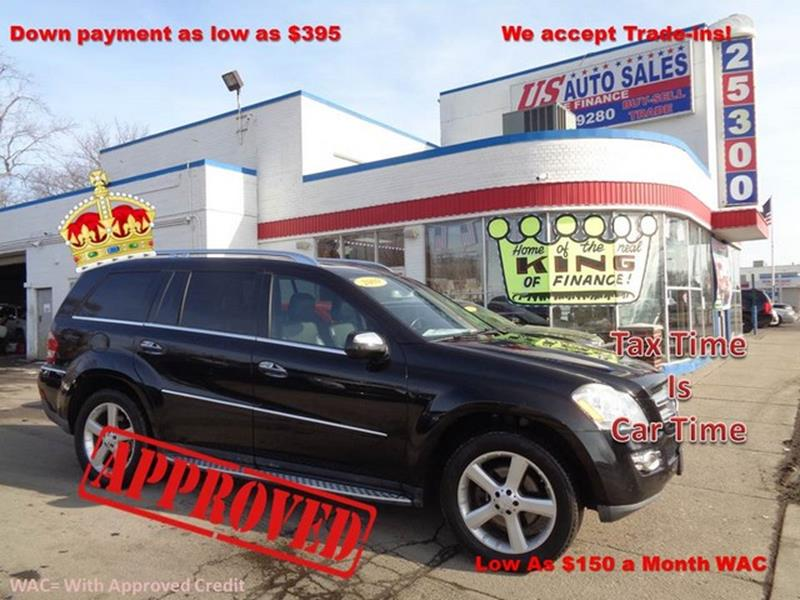 2009 Mercedes-Benz Gl-class car for sale in Detroit