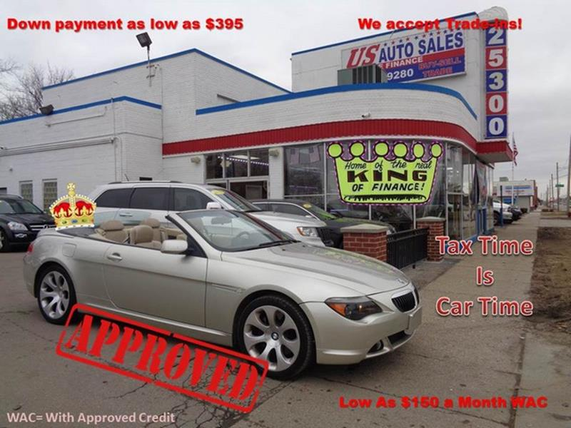 2004 Bmw 6 Series car for sale in Detroit