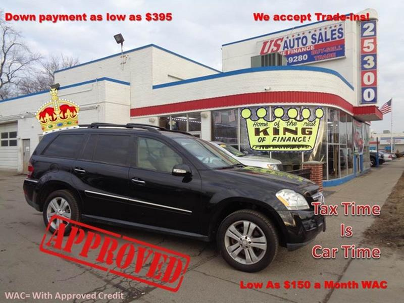 2008 Mercedes-Benz Gl-class car for sale in Detroit