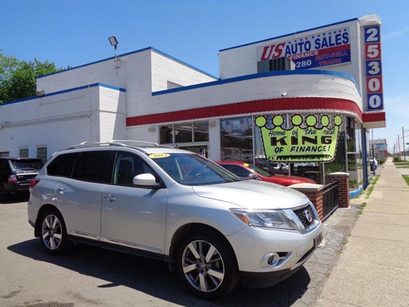 2013 Nissan Pathfinder car for sale in Detroit