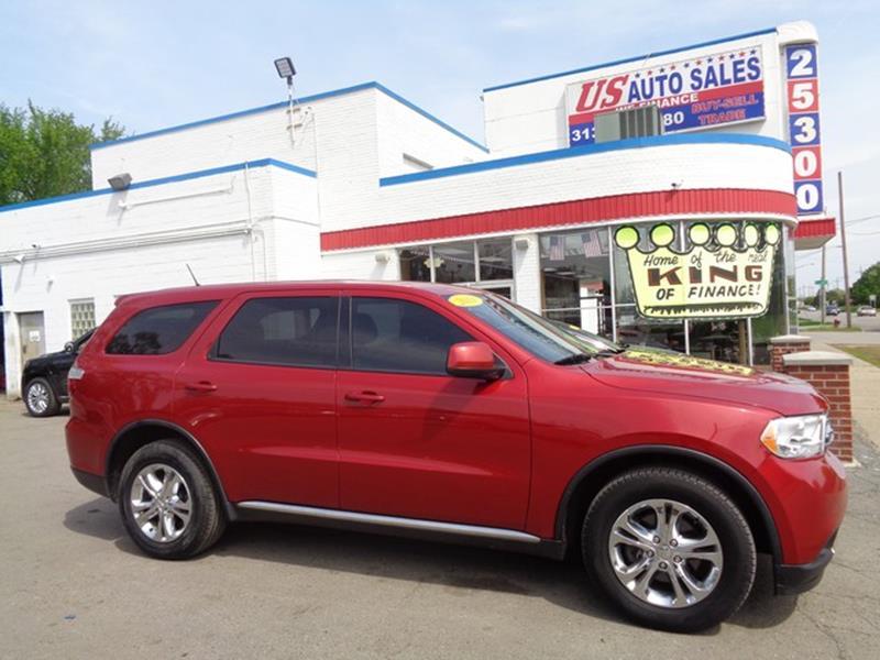 2011 Dodge Durango car for sale in Detroit