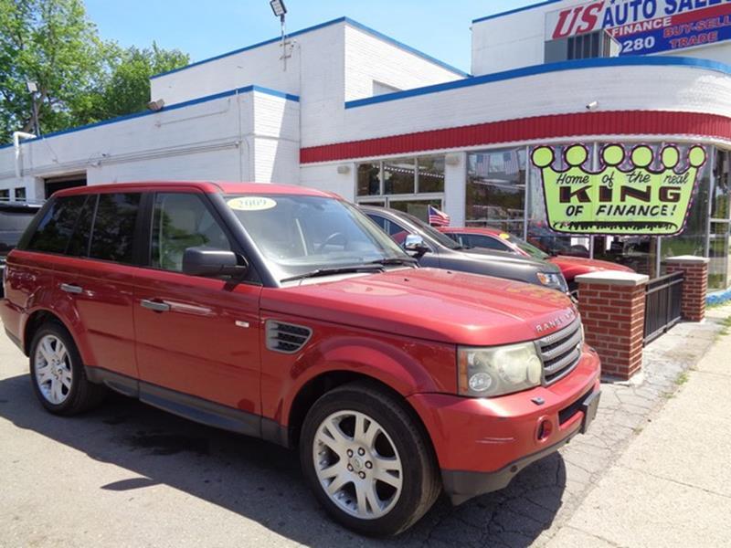 2009 Land Rover Range Rover Sport car for sale in Detroit