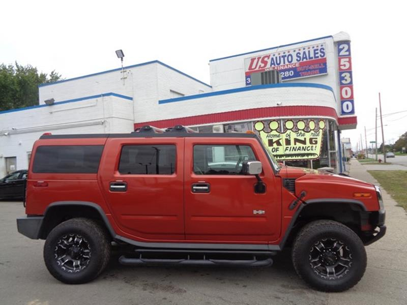 2004 Hummer H2 car for sale in Detroit