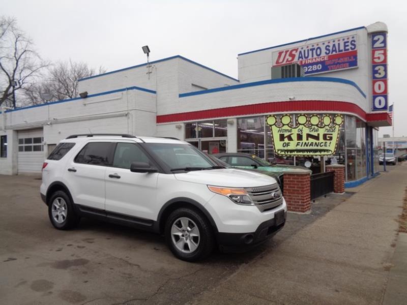 2013 Ford Explorer car for sale in Detroit