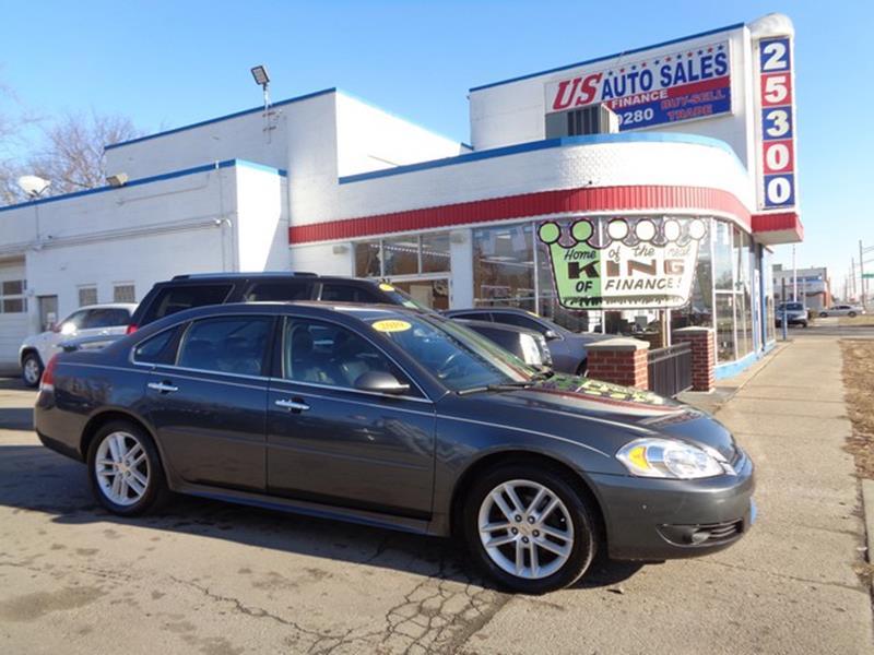 2010 Chevrolet Impala car for sale in Detroit