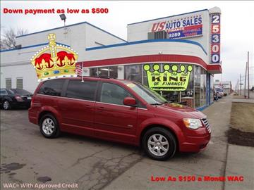 2008 Chrysler Town and Country for sale in Redford, MI