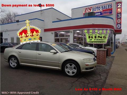 2004 Audi A8 L for sale in Redford, MI