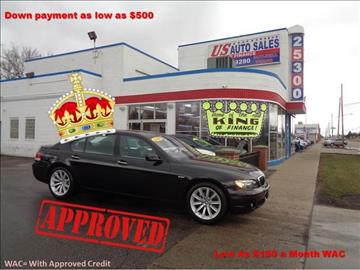 2008 BMW 7 Series for sale in Redford, MI