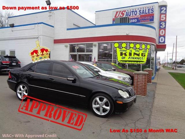 2004 Mercedes-Benz C-class car for sale in Detroit