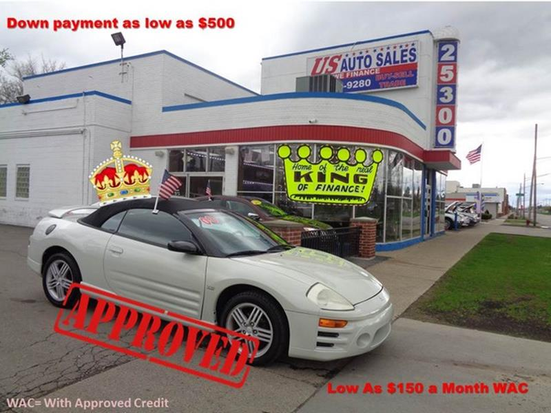 2003 Mitsubishi Eclipse Spyder car for sale in Detroit