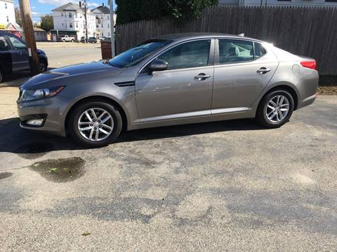 2013 Kia Optima for sale in Fall River, MA