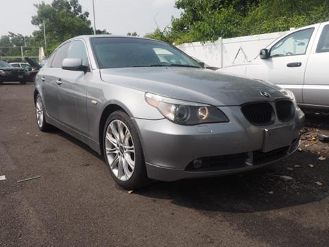 2006 bmw 5 series for sale in new jersey. Black Bedroom Furniture Sets. Home Design Ideas