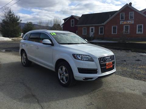 Used Audi Q For Sale In Vermont Carsforsalecom - Audi q7 used