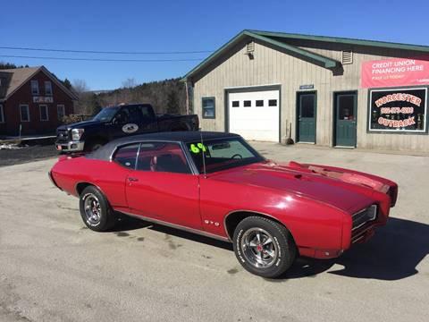 1969 Pontiac GTO for sale in Waterbury Center, VT