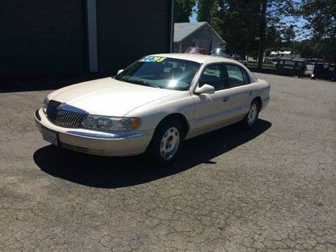 1998 Lincoln Continental for sale at SafeMaxx Auto Sales in Placerville CA