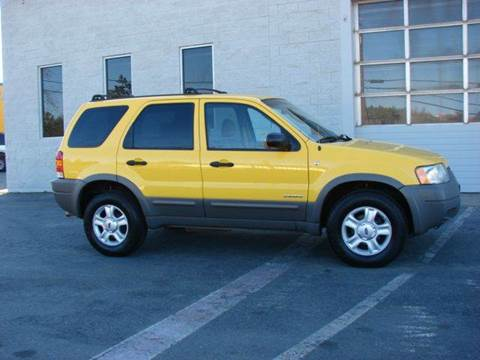 2002 Ford Escape for sale at SafeMaxx Auto Sales in Placerville CA
