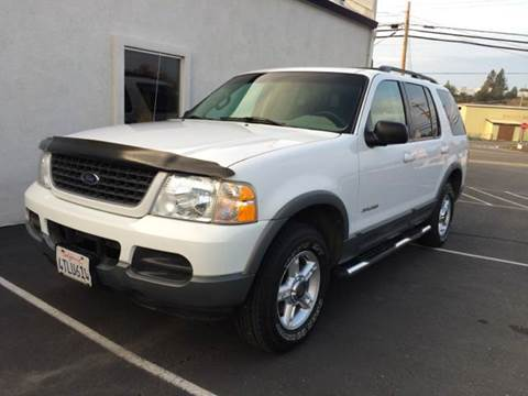 2002 Ford Explorer for sale at SafeMaxx Auto Sales in Placerville CA