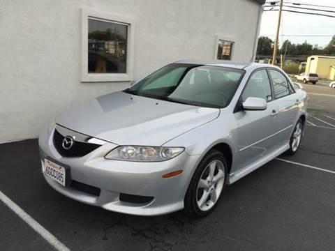 2004 Mazda MAZDA6 for sale at SafeMaxx Auto Sales in Placerville CA