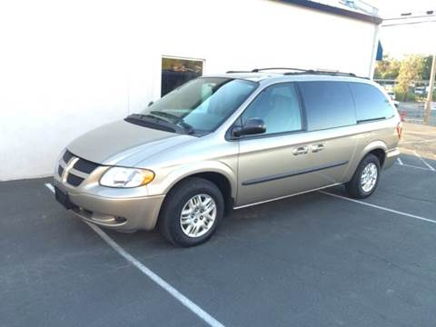 2003 Dodge Grand Caravan for sale at SafeMaxx Auto Sales in Placerville CA