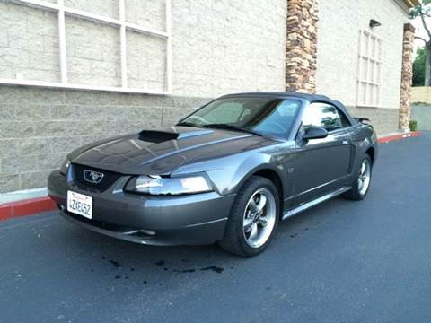 2003 Ford Mustang for sale at SafeMaxx Auto Sales in Placerville CA