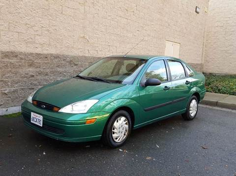 2002 Ford Focus for sale at SafeMaxx Auto Sales in Placerville CA