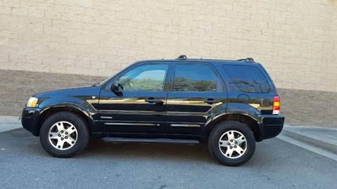 2002 Ford Escape for sale at SafeMaxx Auto Sales in Placerville CA