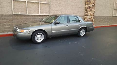 2002 Mercury Grand Marquis for sale at SafeMaxx Auto Sales in Placerville CA
