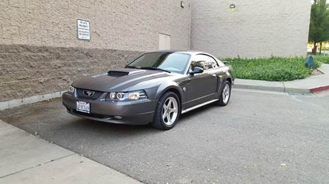 2004 Ford Mustang for sale at SafeMaxx Auto Sales in Placerville CA