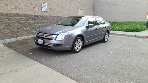 2007 Ford Fusion for sale at SafeMaxx Auto Sales in Placerville CA