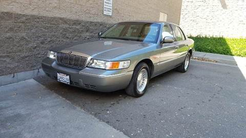 2001 Mercury Grand Marquis for sale at SafeMaxx Auto Sales in Placerville CA