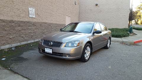 2005 Nissan Altima for sale at SafeMaxx Auto Sales in Placerville CA