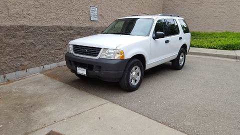 2003 Ford Explorer for sale at SafeMaxx Auto Sales in Placerville CA
