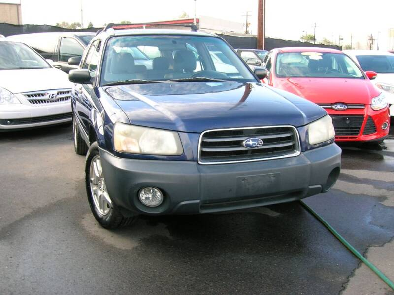 2005 Subaru Forester for sale at Avalanche Auto Sales in Denver CO