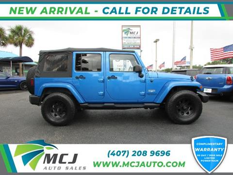 2015 Jeep Wrangler Unlimited for sale in Orlando, FL
