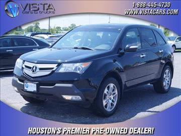 2009 Acura MDX for sale in Houston, TX