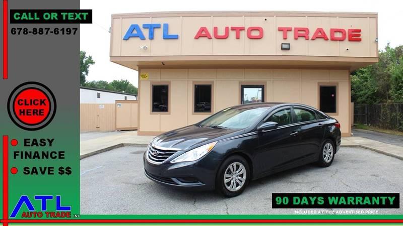 2012 Hyundai Sonata For Sale At ATL Auto Trade, Inc. In Stone Mountain GA