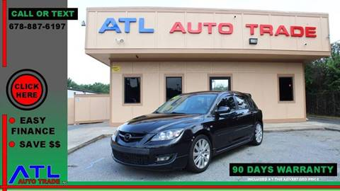 2007 Mazda MAZDASPEED3 for sale at ATL Auto Trade, Inc. in Stone Mountain GA