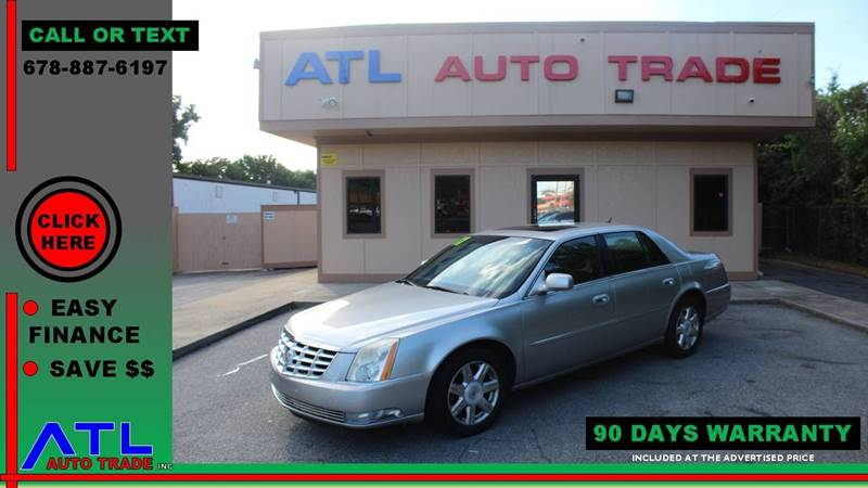 2007 Cadillac DTS for sale at ATL Auto Trade, Inc. in Stone Mountain GA
